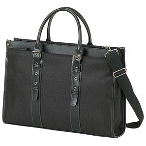 女性用ビジネスバッグ ブラック 持ち手長さ調整可能ビジネスバッグ